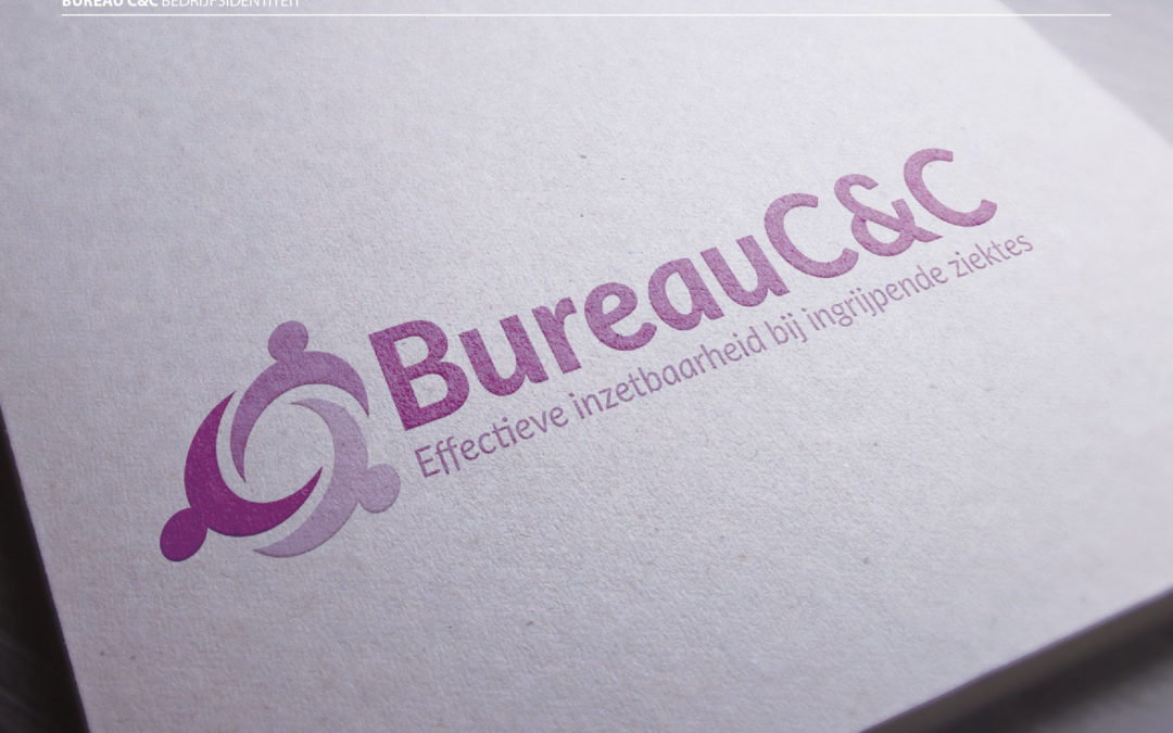 Nieuwe bedrijfsidentiteit van BureauC&C